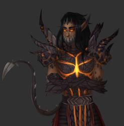 world of warcraft, black dragon by ilvions