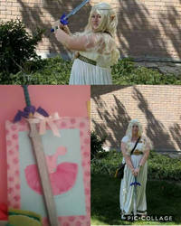 Zelda Cosplay + Face Reveal! by BeanieIsAwesome