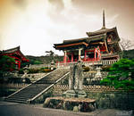 At Kiyomizu temple