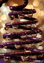 Improvised Christmas tree by Gallynette
