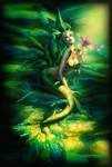 Sirena-de-las-mariposas by aikican