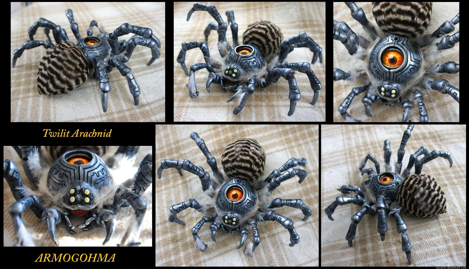 Twilit Arachnid by Escaron