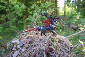 Saviour in the Wild -  Sculpture by Escaron