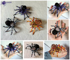 Tarantula Party - Sculptures