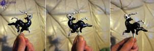 Mini Halloweenicorn Bones - Sculpture by Escaron