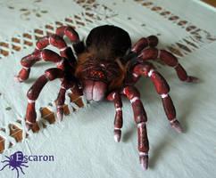 COMM: Goliath Tarantula - Sculpture by Escaron