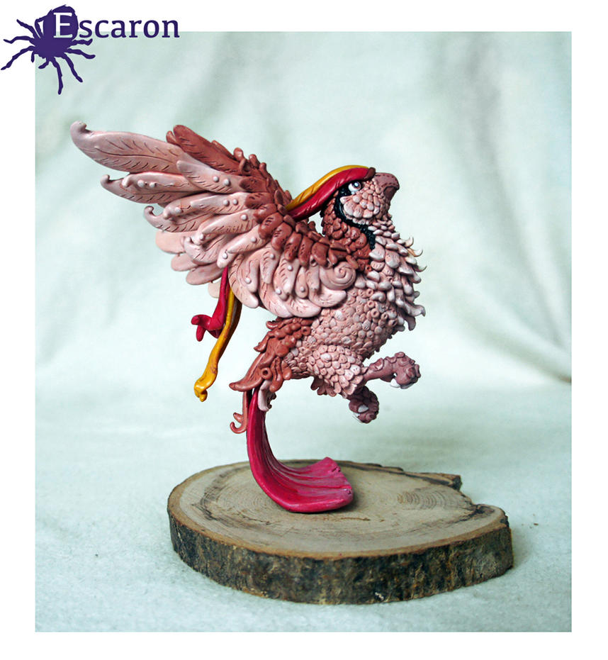 Pokemon Pidgeot - Sculpture by Escaron