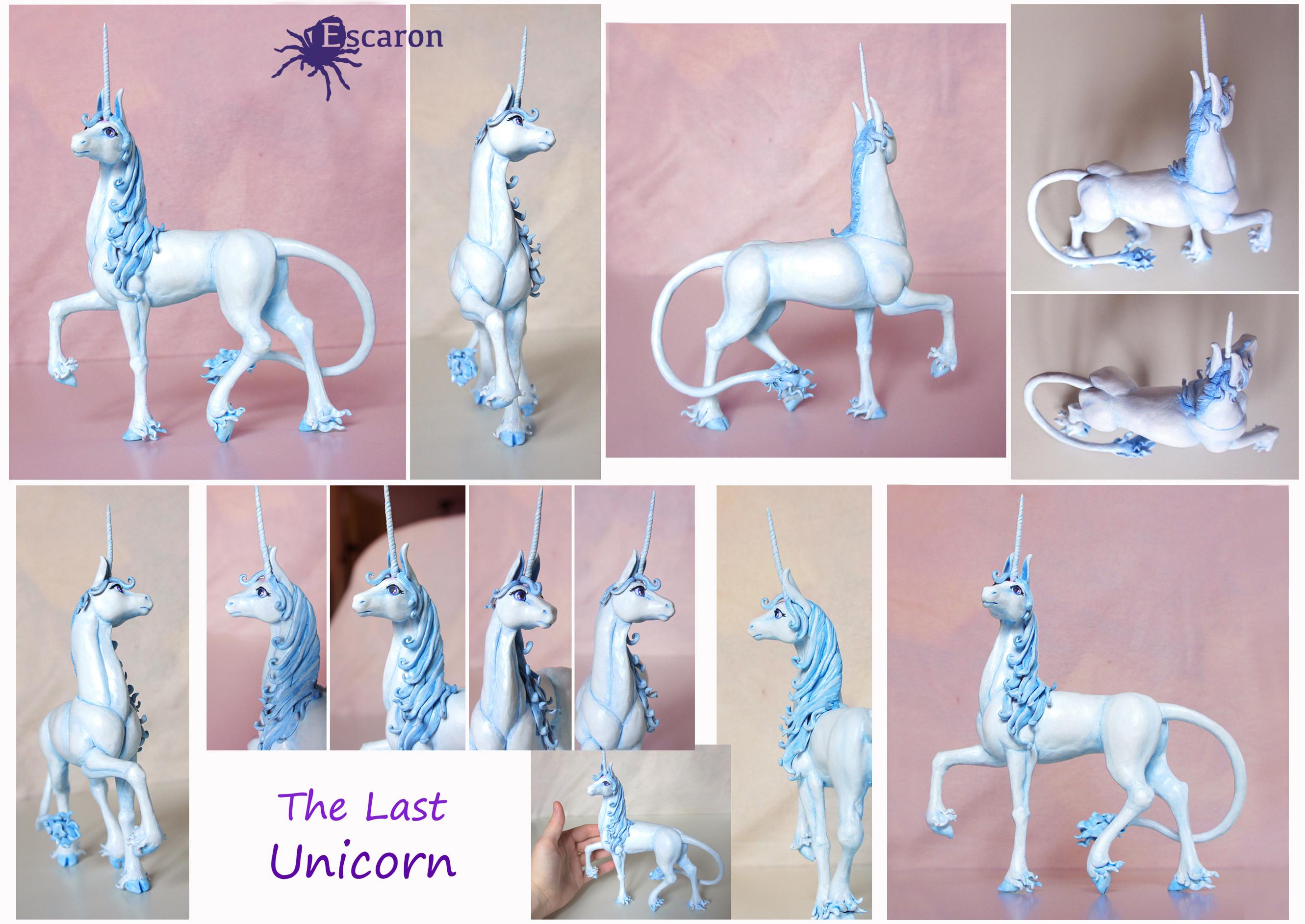 Last Unicorn - Sculpture by Escaron