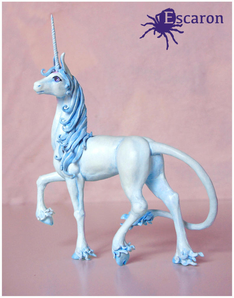 The Last Unicorn - Sculpture by Escaron