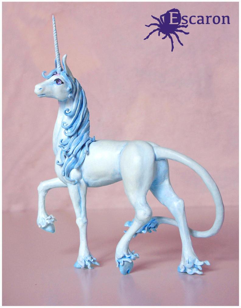The Last Unicorn - Sculpture by Escaron