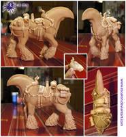 WIP2 - (Still) headless gypsy horse by Escaron