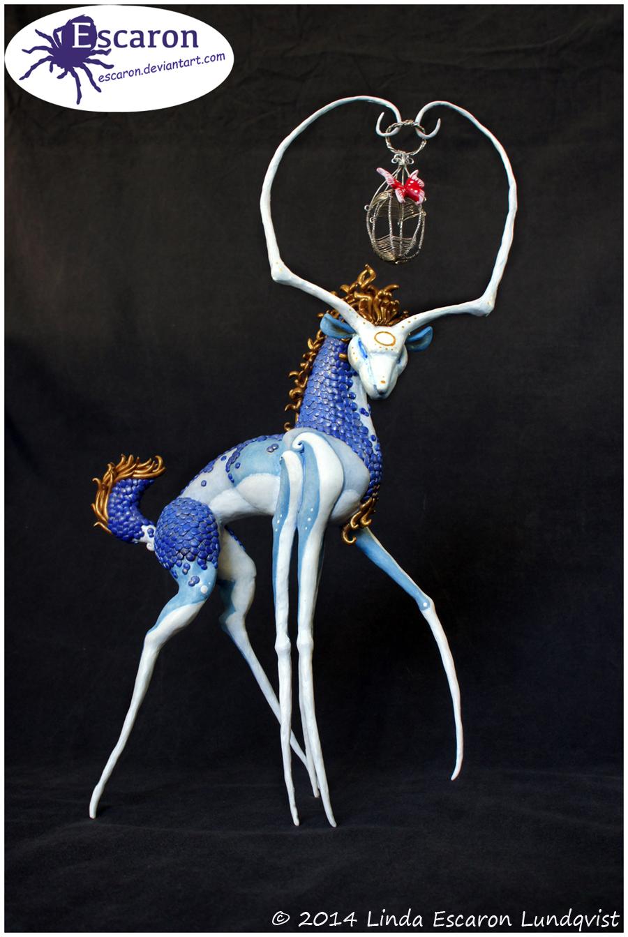 Masked: Soul Dancer - Sculpture
