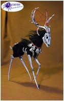 Hollow Beast -Sculpture by Escaron