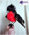 The Bullfinch Knytt - Posable Art Doll (SOLD)
