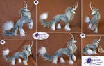 Uniqorn Steed - Posable Art Doll (SOLD)