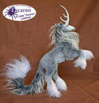 Uniqorn Steed Storm - Posable Art Doll (SOLD)