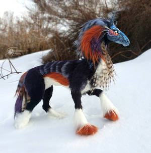 Denba the Armoured Steed - Artdoll (SOLD)