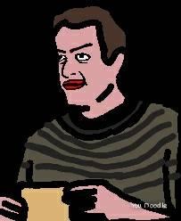 Drawing of Jason Segel by The-Daily-Maff