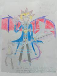 True Dragon Blade Mode Yugi Muto(u) by DragonHero15