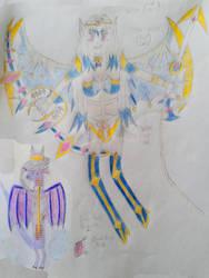 Phoebe Sparkle Mutou's Merged Burst Limit by DragonHero15
