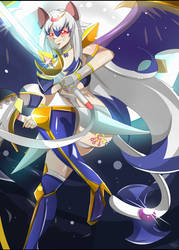 Phoebe Sparkle Mutou's Merged Burst Limit 2 by DragonHero15