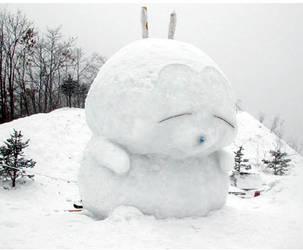 Snow bunny by uniquevalenti