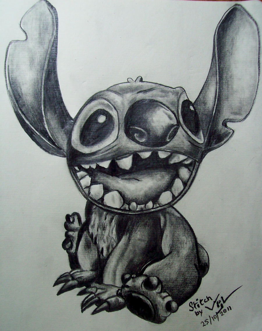 Stitch live by boy140495