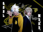 -Soul and Maka- So cool.