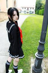 Black seifuku cosplay by Nami-Ayashi