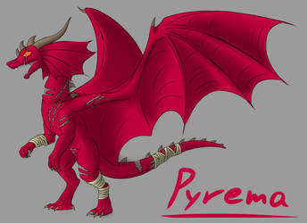 Pyrema - Color by TheGreatVescryll