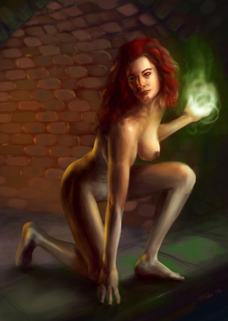 Assured, that witch naken