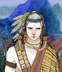 New Thumbnail art of LANU by Anthrokim