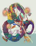 Sapoong character artbook DRAGON