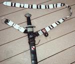 Medieval Pewter Plaque Belt