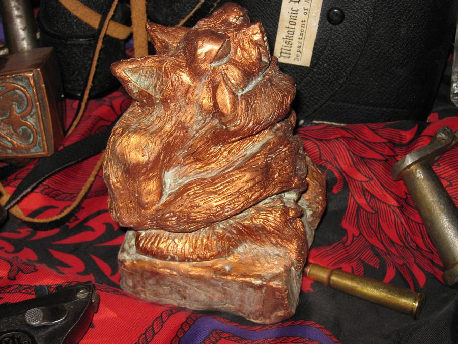 Copper Tsathoggua Idol II
