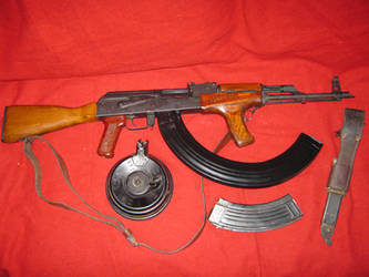My AK47 Got Zombies? by vonmeer