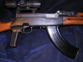 My SKS AK47 clone by vonmeer