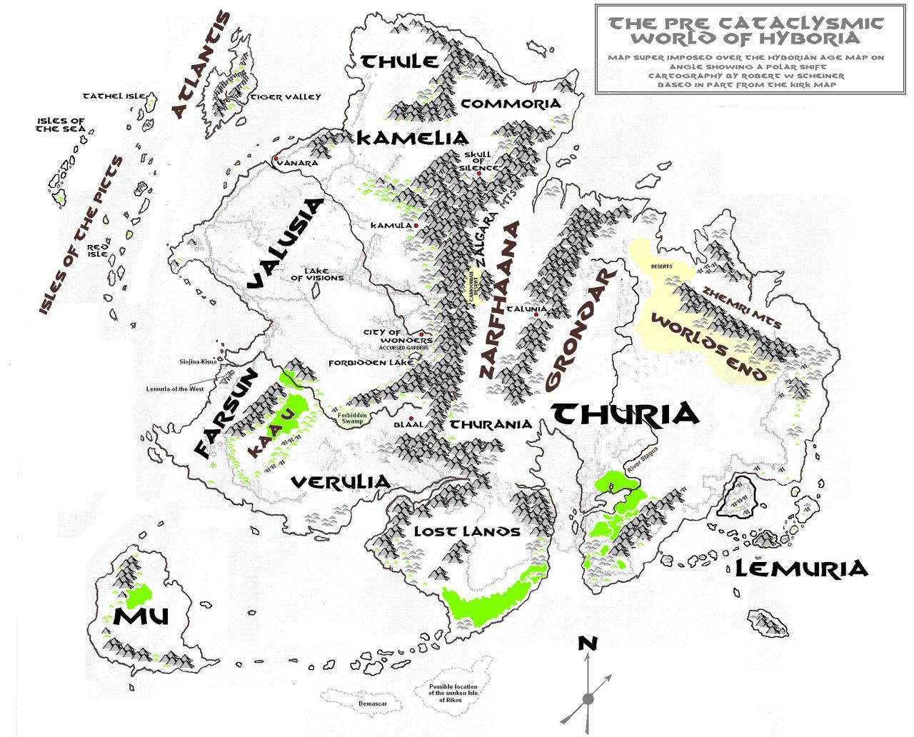 R.E. Howards Kulls Atlantis