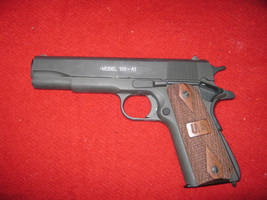 WWII style 1911 .45 cal pistol by vonmeer