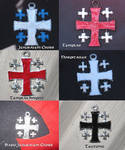 Pewter Crosses