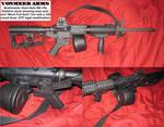 5.56 AR15 with Bumpfire stock (Slidefire) SHTF gun