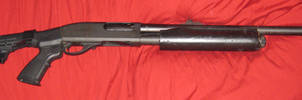 Zombie Hunter Remington 870 magnum express by vonmeer