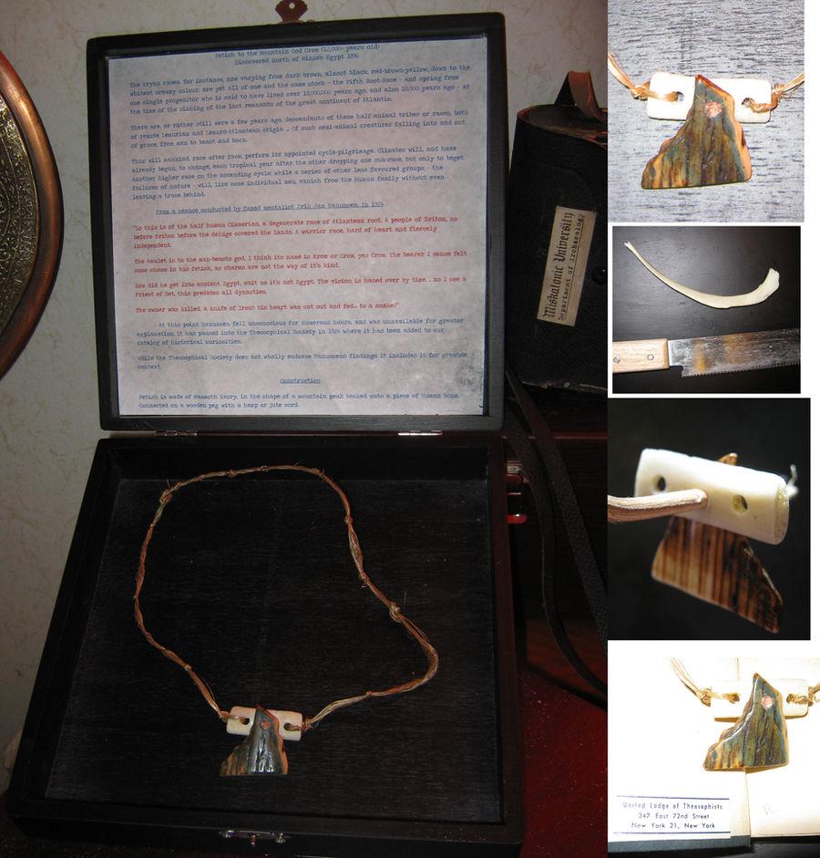 Fetish of Crom (Human Bone and Mammoth Ivory)