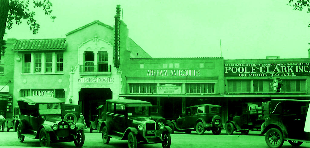 Arkham Antiquities (Arkham Massachusetts) by vonmeer