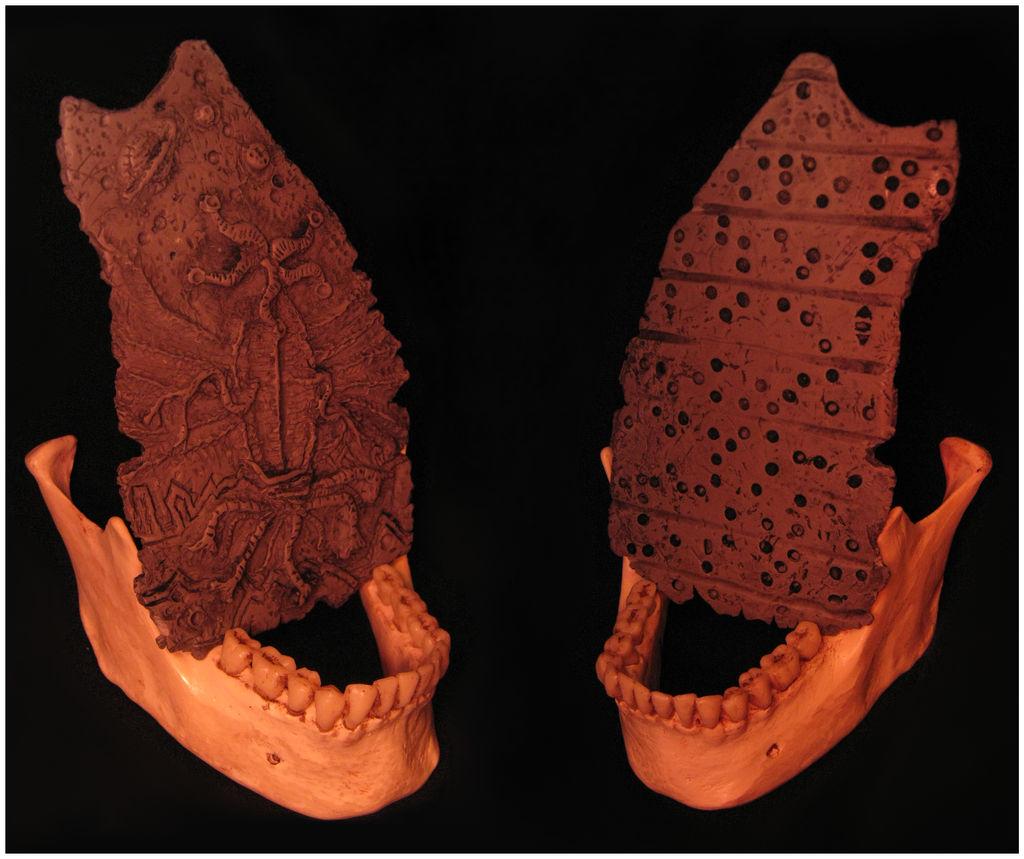 Elder Thing pottery fragment