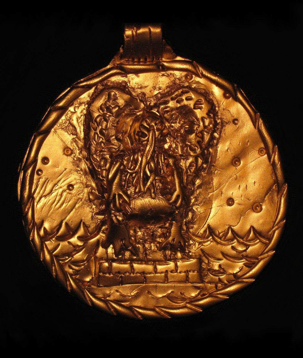Cthulhu Cult Astrolabe (Back)
