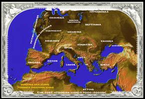 Post Hyborian Age 9500-6000BC by vonmeer