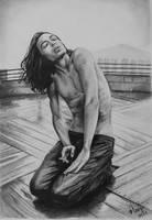 Ezra Miller by analuinog