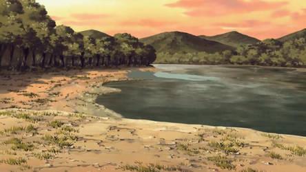 Orilla Lago Naruto