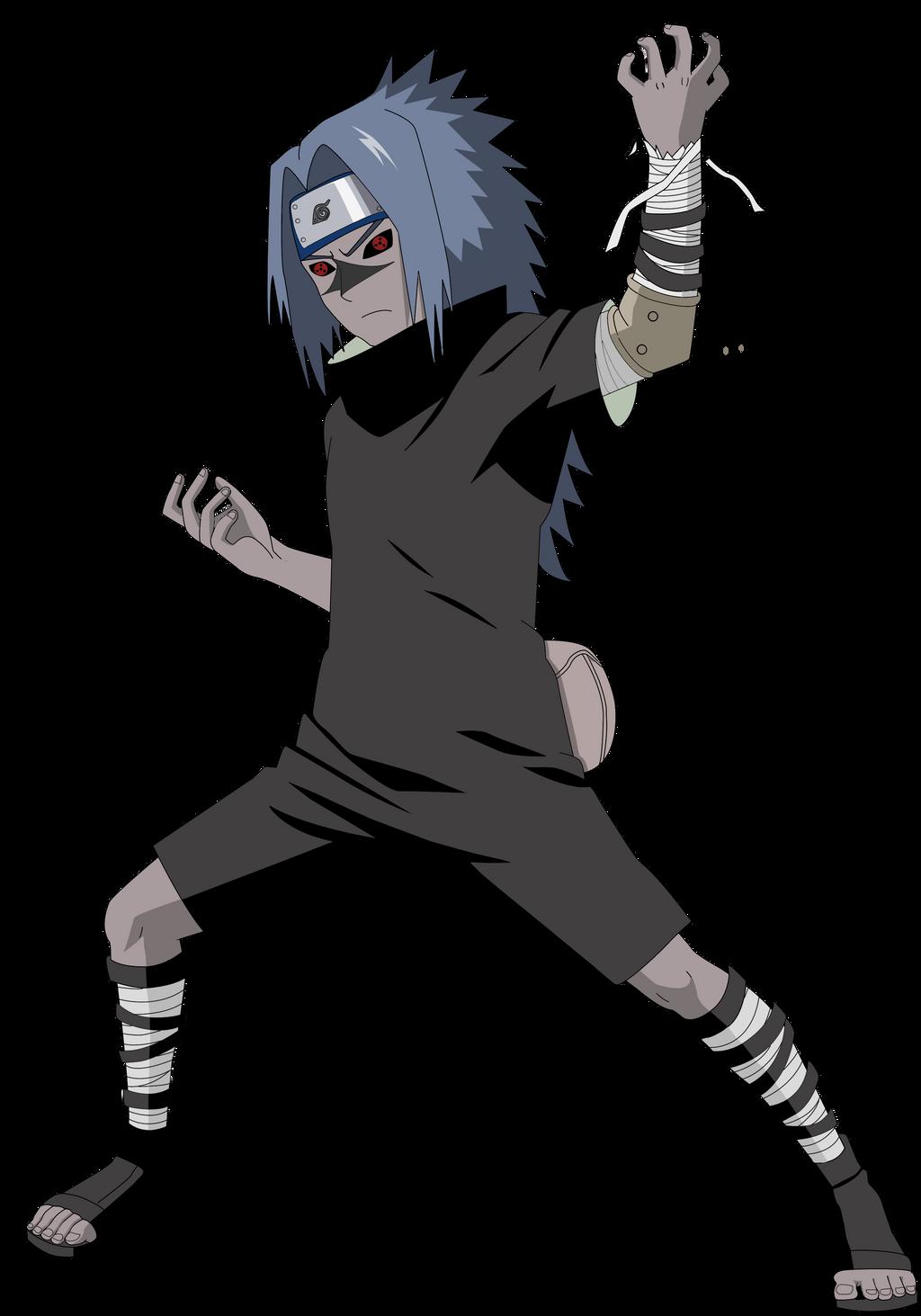 Sasuke Curse Seal Render by lwisf3rxd on DeviantArt